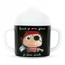 Handle cup Pirate by Isabelle Kessedjian