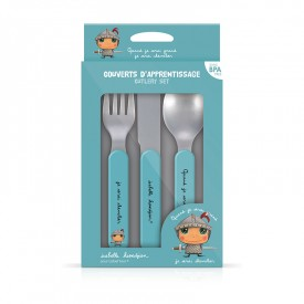 Cutlery set Knight by Isabelle Kessedjian