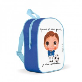 Backpack small Footballer by Isabelle Kessedjian