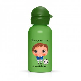 Drink bottle Footballer by Isabelle Kessedjian