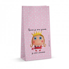 6 sweets bags Princess by Isabelle Kessedjian