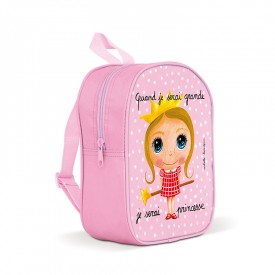Backpack small Princess by Isabelle Kessedjian