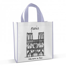 Shopping bag to colour Tour by Marielle Bazard