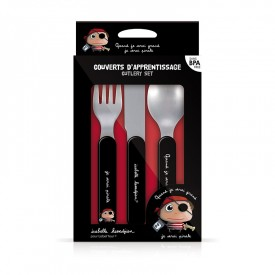 Cutlery set Pirate by Isabelle Kessedjian