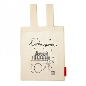 "Bag ""L'Opéra Garnier"" to colour by Marielle Bazard"