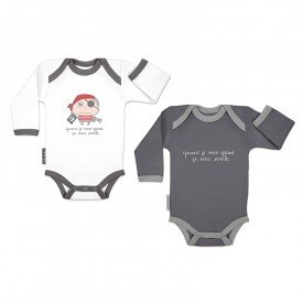 Bodysuits set Pirate (long sleeves) by Isabelle Kessedjian