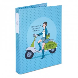 Ring binder Blue by Bénédicte Voile
