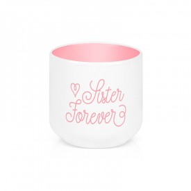 """Egg cup """"Sister forever"""""""