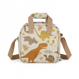 "Small insulated lunch bag ""Dinosaurs"""