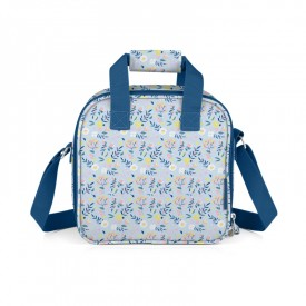 """Small insulated lunch bag """"Liberty blue"""""""