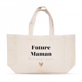 "Shopping bag ""Future Maman - Pas de panique, je gère"