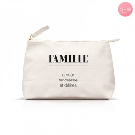 """""""famille"""" pouch"""