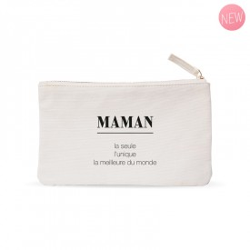 """Small pouches : """"Maman"""""""
