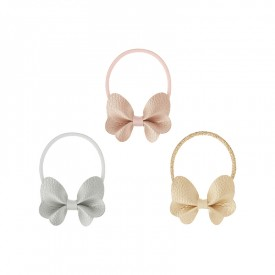 3 elastic for butterfly hair