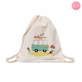Cotton tote bag: Van