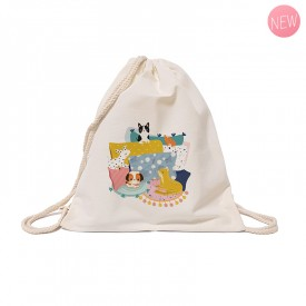 Cotton tote bag: Pets