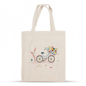 Bike cotton bag