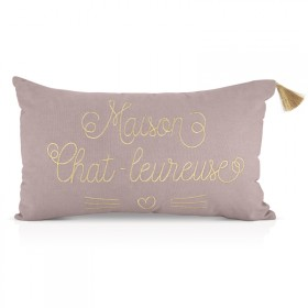 Cushion Maison chat-leureuse