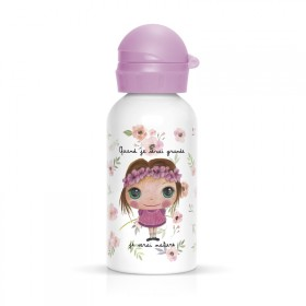 Children flask Nature for girl pink
