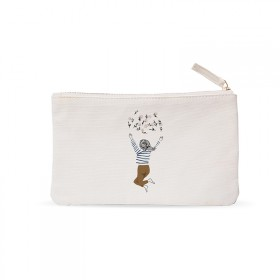 Small pouch: Flower child