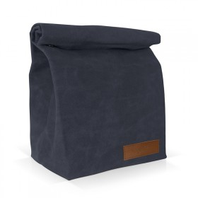 Navy insulated lunch bag