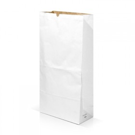 White kraft bag to personalize