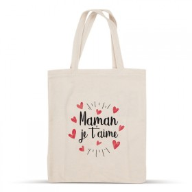 Maman je t'aime cotton bag