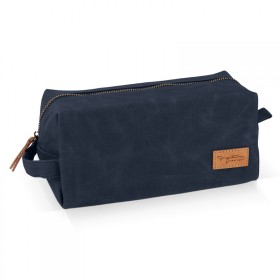 Navy wash bag
