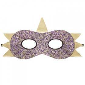 Dino mask with glitter