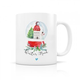 Winter Mood - snow Ball mug