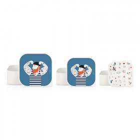 Set of 3 lunch boxes Sailor