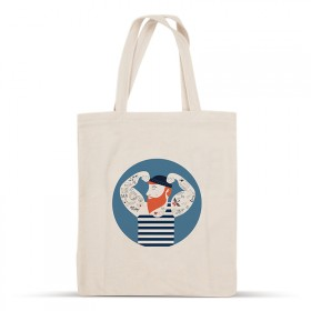 Sailor cotton bag