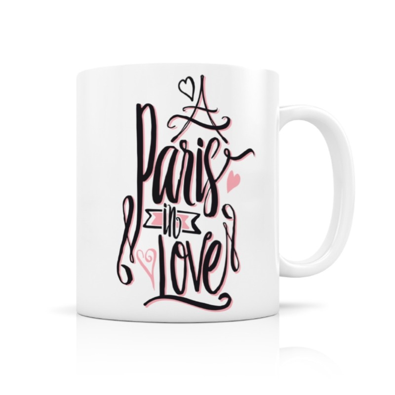 Mug Paris in love