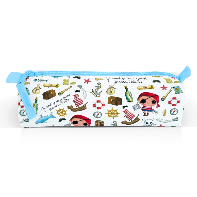 Pirate Children's Pencil Case by Isabelle Kessedjian