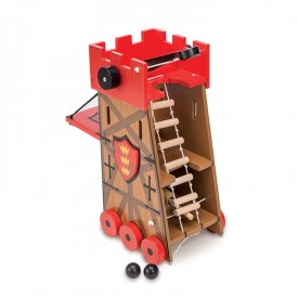 Siege Tower Red by Le toy van