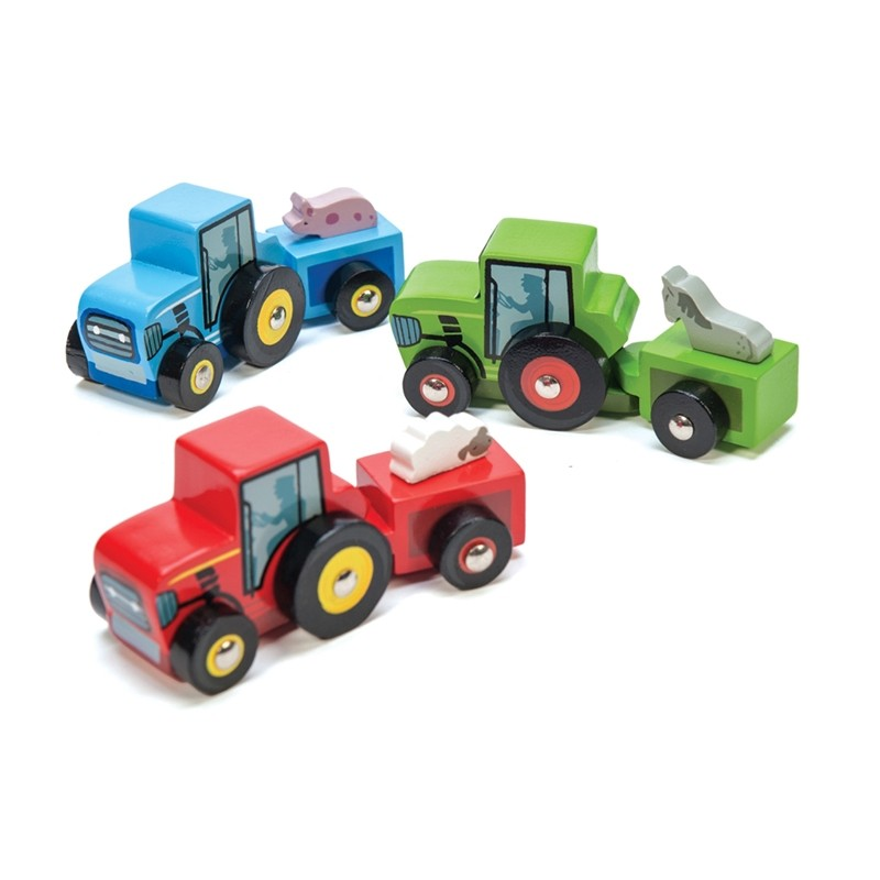 Tractor Trails CDU (Set of 9 in CDU) by Le toy van