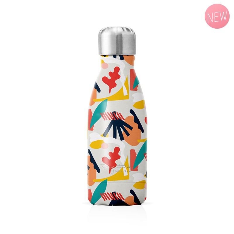 "Small insulated bottle ""Abstract"" by Label'tour créations"
