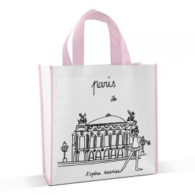 Shopping bag to colour Opera Garnier