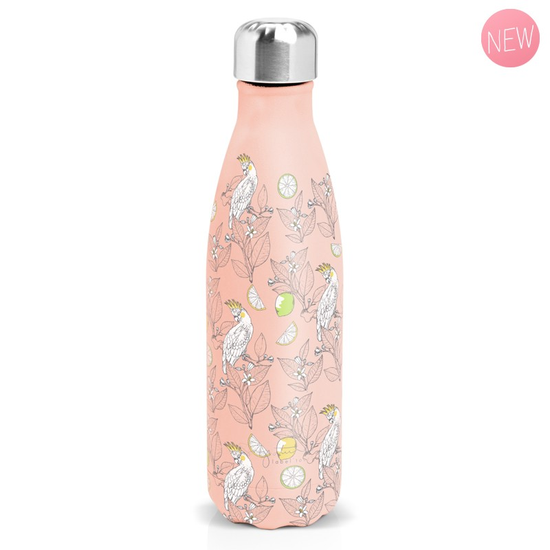 """Insulated bottle """"Agrumes"""" by Label'tour créations"""