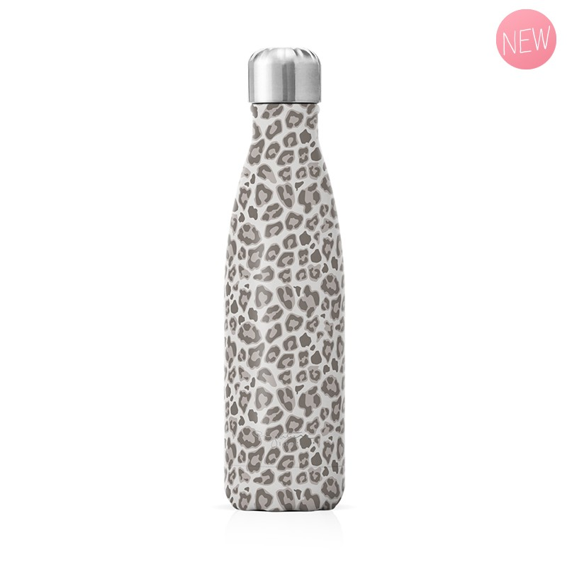 "Insulated bottle ""Leopard"" by Label'tour créations"