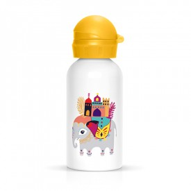 Elephant children flask by Zabeil