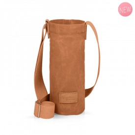 Camel bottle holder bag by Label'tour créations