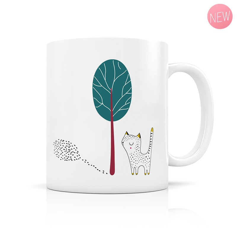Cat cup by Zabeil
