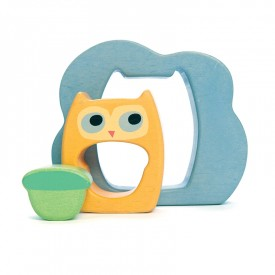 Owly Woo 3 Piece Puzzle by Le toy van