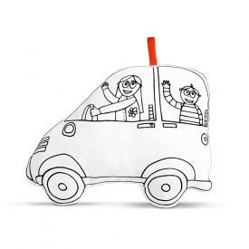 Car to colour by Marielle Bazard