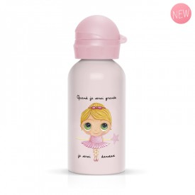Children flask ballerina for girl pink by Isabelle Kessedjian