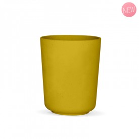 Mimosa Yellow Vegetal glass by Label'tour créations