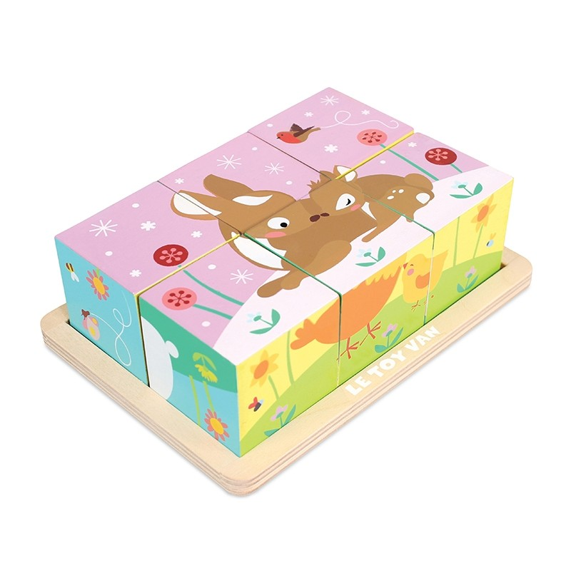 All Seasons Cube Puzzle by Le toy van