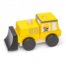 Bulldozer Stacker by Le toy van