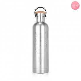 Insulated bottle stainless steel Owl by Label'tour créations